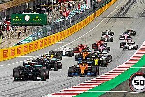 EXTRA: izgalmas F1-es onboardok az első körről a Stájer Nagydíjról