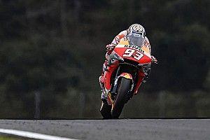 MotoGP, Motegi, Libere 4: Marquez vola con la pista che asciuga