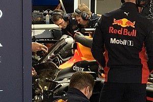 Red Bull: quanta massa radiante sopra al motore!