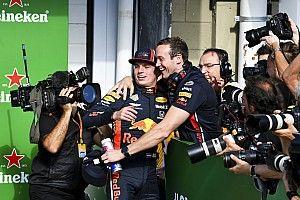 Ricciardo vindt pole-position van Red Bull in Brazilië 'geweldig'