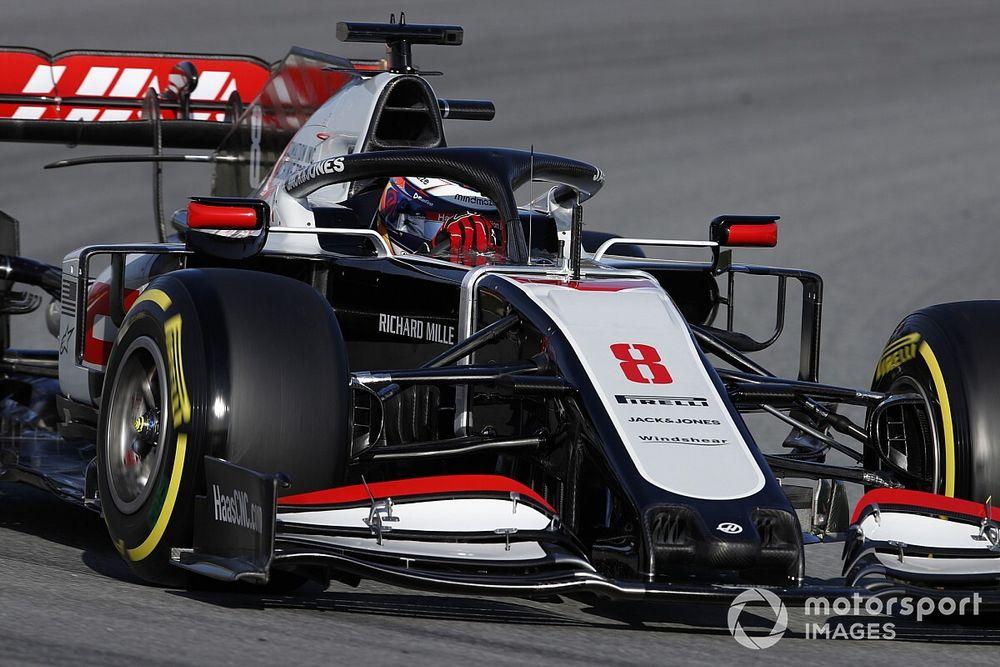 Haas: No probar antes de Austria no es una desventaja