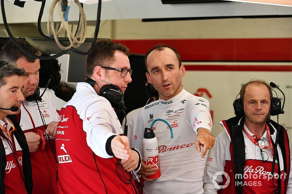 Kubica vuelve a subirse a un F1 este fin de semana