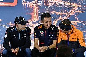 """Albon: """"Verstappen araçtan çok memnun"""""""