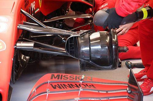 Új fékhűtő a Ferrarin