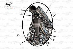 In detail: De Honda-motor van Red Bull Racing