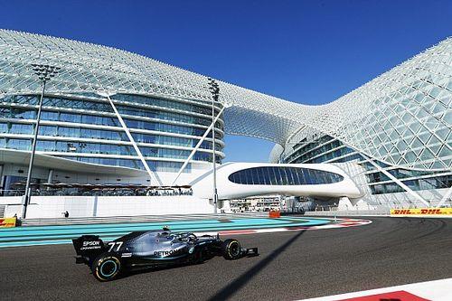 Bottas le saca medio segundo a Verstappen en la FP1 de Abu Dhabi