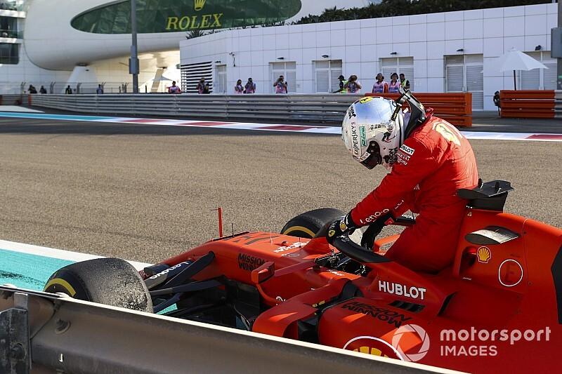 """Vettel: """"Ho commesso un paio di errori da non fare"""""""