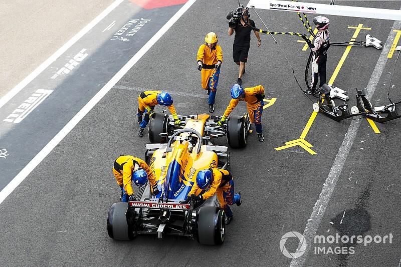 McLaren pit incelemesine ceza çıkmadı