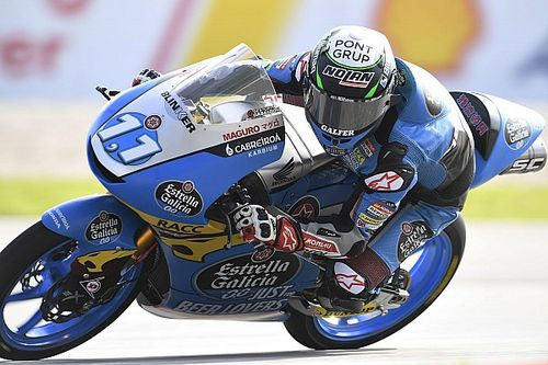 Moto3 Valencia: Garcia wint finale, zware crash Foggia