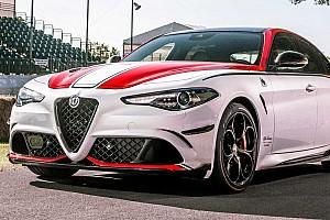 Az Alfa Romeo 620 lóerős Giulia-variánson dolgozik