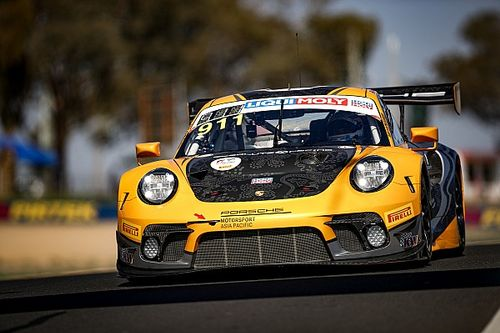 Bathurst 12 Hour: Campbell takes stunning pole