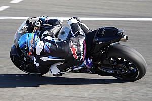 Test Valence, J1 - Trois Yamaha en tête, deux Márquez au sol