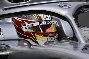 Хэмилтон показал шлем для Гран При Бразилии