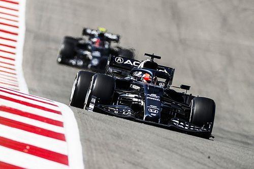 角田裕毅、F1アメリカGPを堅実に戦い抜き9位入賞「ソフトタイヤでのスタートを最大限に活かした」