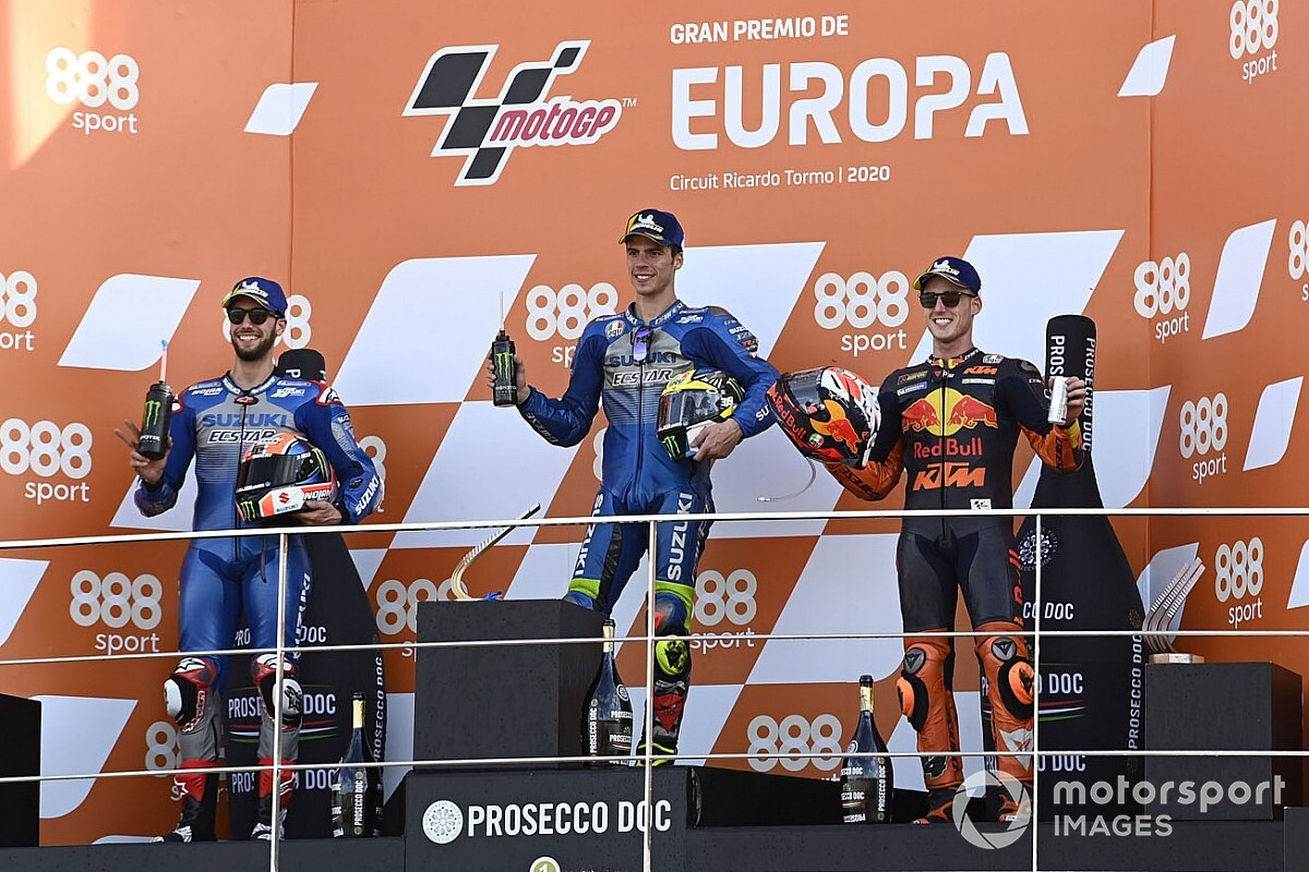GP de Europa MotoGP: Timeline vuelta por vuelta