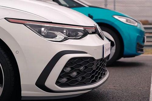 ¿Cuál es más rápido, el Volkswagen Golf GTI o el ID.3?