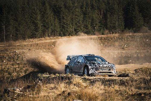 WRC: M-Sport continua i test con la Rally1 ibrida in Spagna