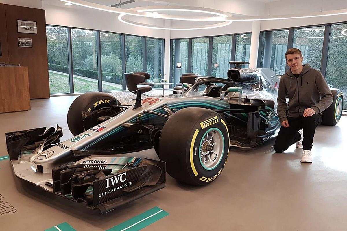 El nuevo junior de Mercedes no siente más presión
