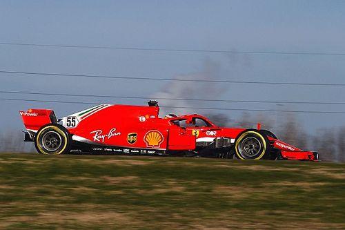 Алая неделя. Лучшие кадры с тестов Ferrari во Фьорано
