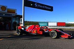 Ferrari sluit Fiorano-test af en plant filmdag met 2021-auto