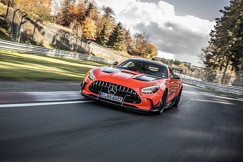 Mercedes bate con el AMG GT Black Series el récord de Nürburgring