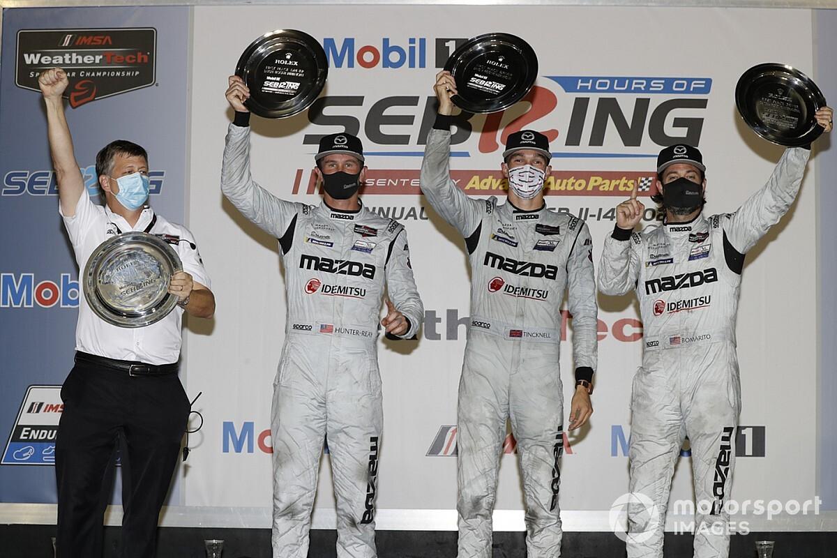 "Mazda's Sebring win ""a huge result"" says Tincknell"