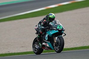 Valencia MotoGP: Morbidelli claims pole as Suzukis struggle