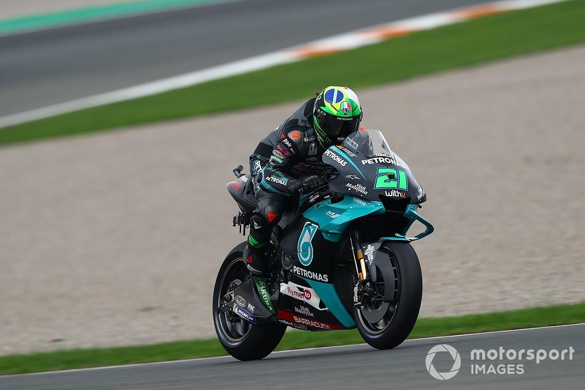 Hasil Kualifikasi MotoGP Valencia: Morbidelli Pole, Quartararo-Mir Start Berdekatan