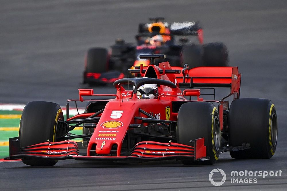"""Vettel minder betrokken bij Ferrari: """"Liefdesrelatie is voorbij"""""""