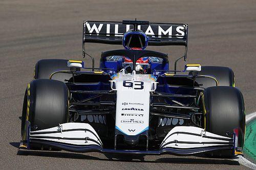 """A Williamsnek """"nagy erőfeszítésébe"""" került pótolni az összetört alkatrészeket"""