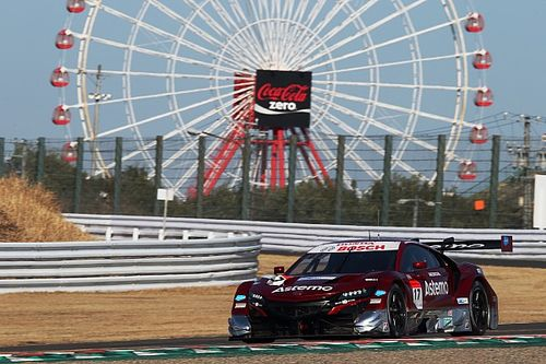 Honda on top as Super GT testing continues at Suzuka