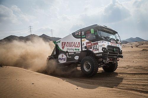 Huzink strandt met motorpech in tweede etappe Dakar 2021