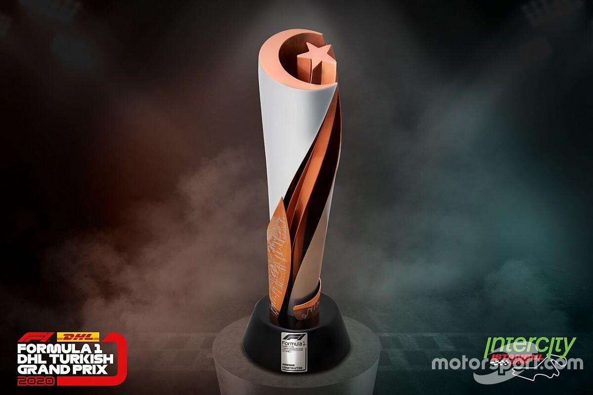 2020 Türkiye GP kupası ortaya çıktı!