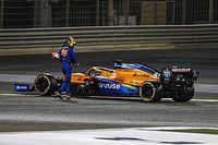 """Sainz, """"muy enojado"""" por la falla mecánica en su McLaren"""