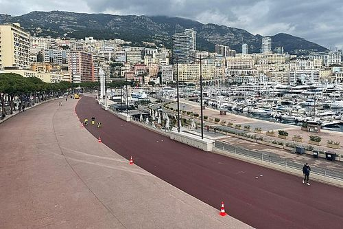 Monaco a une voie des stands flambant neuve