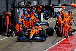 Ricciardo soddisfatto dopo il primo test con la McLaren MCL35M