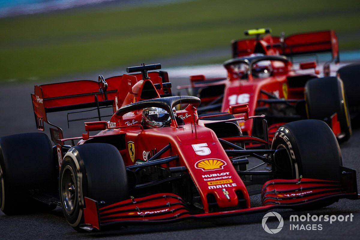 """Intimidated"" Leclerc was most talented driver Vettel saw"