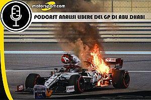 Podcast F1: analisi delle Libere del GP di Abu Dhabi