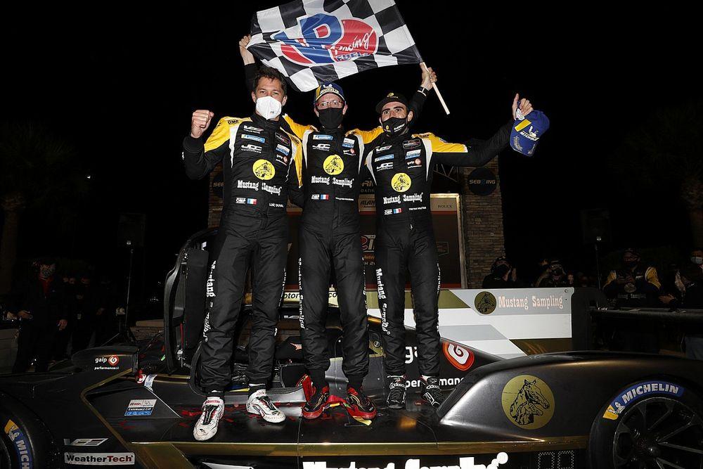 Sebring 12H: Bourdais, Duval, Vautier win in JDC-Miller Cadillac