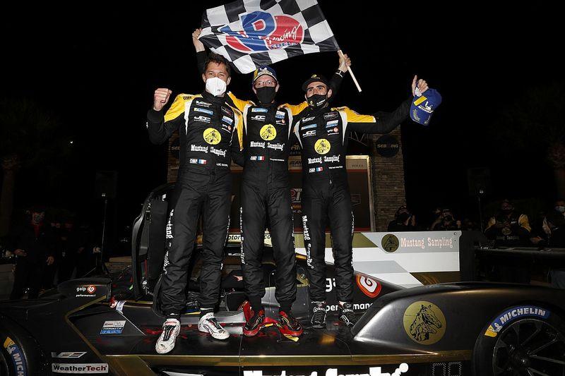 12h de Sebring: victoria de Cadillac; García, cuarto