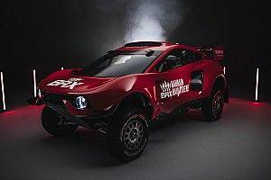 Voici le BRX Hunter, avec lequel Loeb et Roma partiront en chasse !