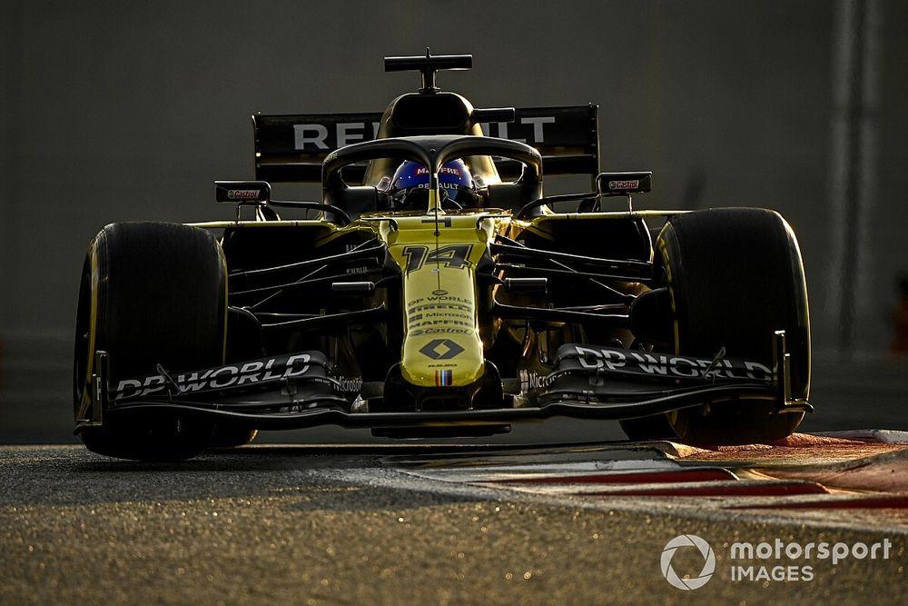 F1: Alonso coloca Renault na ponta do teste de pós-temporada em Abu Dhabi