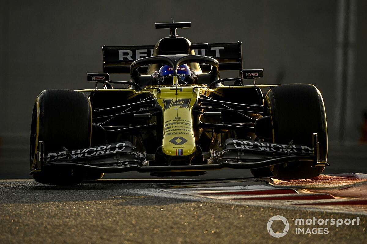 Alonso tops Abu Dhabi F1 test for Renault