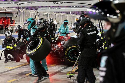 Mercedes отделалась денежным штрафом за ошибку с шинами в Сахире