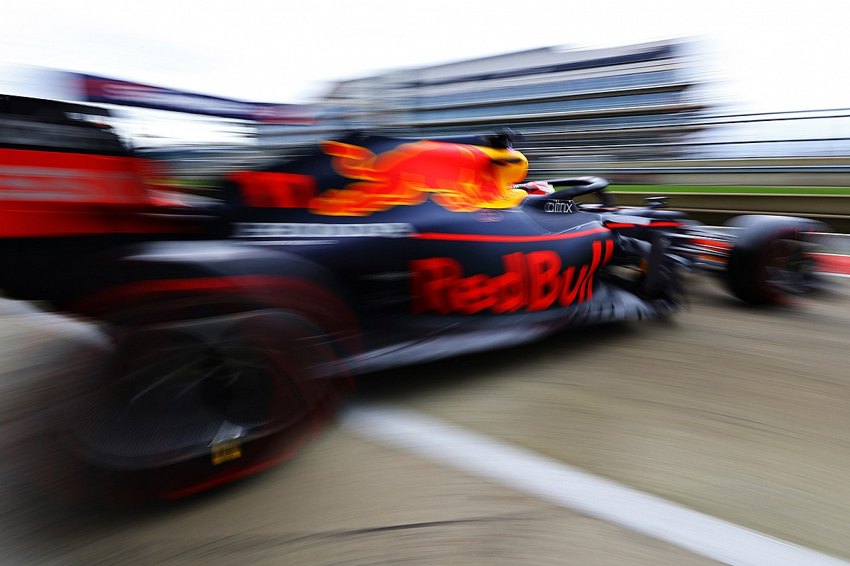 Red Bull's fresh RB16B has'good potential' states Perez thumbnail