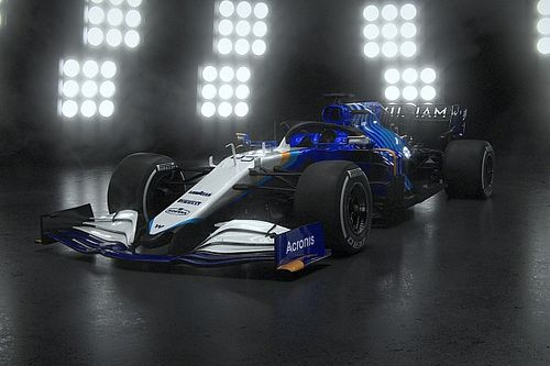Williams Revisi Total Livery FW43B