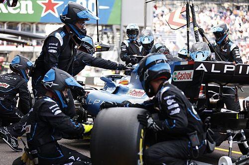 Alonso aporta una interesante idea de neumáticos para circuitos urbanos