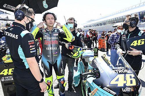 """Rossi: """"Es un momento difícil, pero el equipo me apoya mucho"""""""