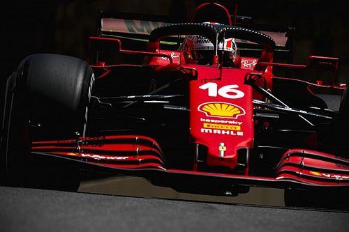 VIDEO: el accidente de Leclerc en Bakú