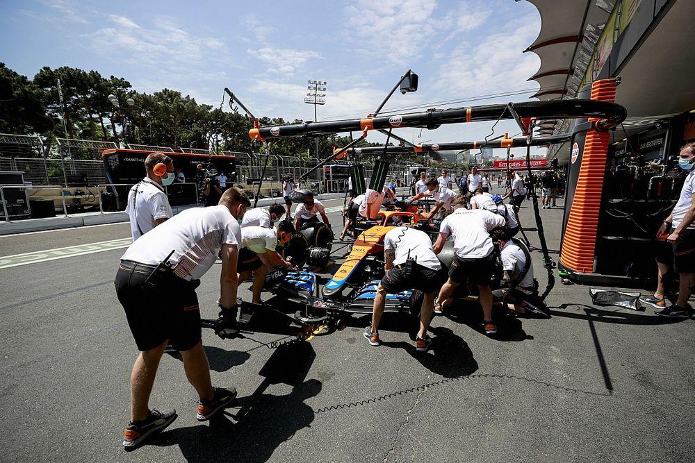 McLaren backs decision to delay pitstop clampdown until Belgian GP